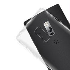 Carcasa Silicona Ultrafina Transparente para OnePlus 2 Claro
