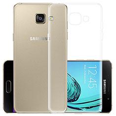 Carcasa Silicona Ultrafina Transparente para Samsung Galaxy A5 (2017) SM-A520F Claro