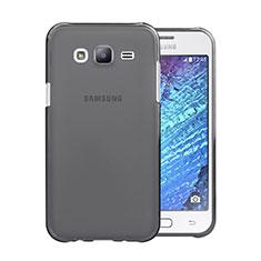Carcasa Silicona Ultrafina Transparente para Samsung Galaxy J5 SM-J500F Gris