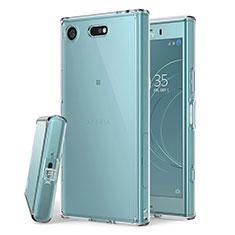 Carcasa Silicona Ultrafina Transparente para Sony Xperia XZ1 Compact Claro