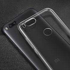 Carcasa Silicona Ultrafina Transparente para Xiaomi Mi A1 Claro