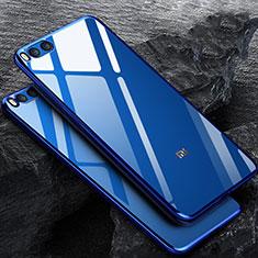 Carcasa Silicona Ultrafina Transparente para Xiaomi Mi Note 3 Azul