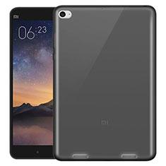 Carcasa Silicona Ultrafina Transparente para Xiaomi Mi Pad 3 Gris