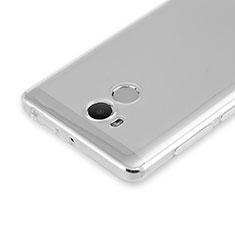 Carcasa Silicona Ultrafina Transparente para Xiaomi Redmi 4 Prime High Edition Claro