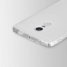 Carcasa Silicona Ultrafina Transparente para Xiaomi Redmi Note 4 Claro