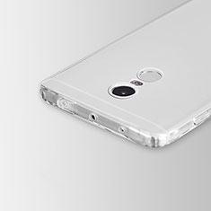 Carcasa Silicona Ultrafina Transparente para Xiaomi Redmi Note 4X High Edition Claro