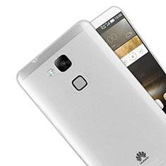 Carcasa Silicona Ultrafina Transparente R01 para Huawei Mate 7 Claro