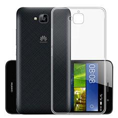 Carcasa Silicona Ultrafina Transparente T01 para Huawei Enjoy 5 Claro