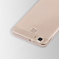Carcasa Silicona Ultrafina Transparente T01 para Huawei Enjoy 5S Claro