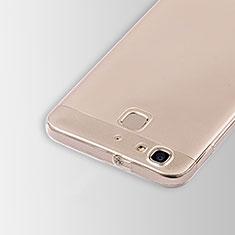 Carcasa Silicona Ultrafina Transparente T01 para Huawei P8 Lite Smart Claro