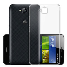 Carcasa Silicona Ultrafina Transparente T01 para Huawei Y6 Pro Claro