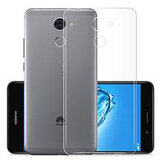 Carcasa Silicona Ultrafina Transparente T01 para Huawei Y7 Prime Claro