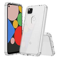 Carcasa Silicona Ultrafina Transparente T02 para Google Pixel 4a Claro