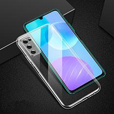 Carcasa Silicona Ultrafina Transparente T02 para Huawei Honor 30 Lite 5G Claro