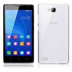 Carcasa Silicona Ultrafina Transparente T02 para Huawei Honor 3C Claro
