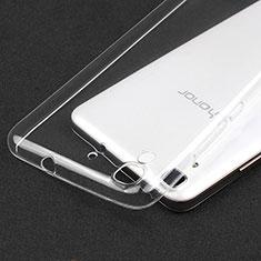 Carcasa Silicona Ultrafina Transparente T02 para Huawei Honor 4A Claro