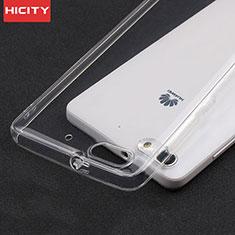 Carcasa Silicona Ultrafina Transparente T02 para Huawei Honor 4C Claro