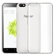 Carcasa Silicona Ultrafina Transparente T02 para Huawei Honor 4X Claro