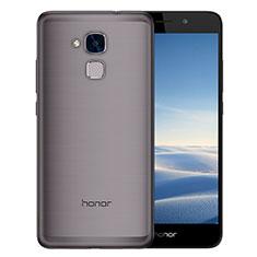 Carcasa Silicona Ultrafina Transparente T02 para Huawei Honor 5C Gris