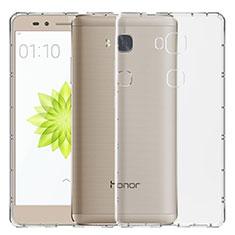 Carcasa Silicona Ultrafina Transparente T02 para Huawei Honor Play 5X Claro