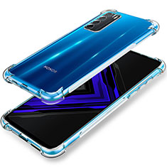 Carcasa Silicona Ultrafina Transparente T02 para Huawei Honor Play4 5G Claro