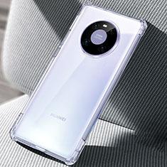 Carcasa Silicona Ultrafina Transparente T02 para Huawei Mate 40 Claro