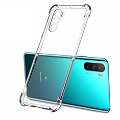 Carcasa Silicona Ultrafina Transparente T02 para Huawei Mate 40 Lite 5G Claro