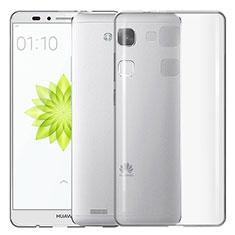 Carcasa Silicona Ultrafina Transparente T02 para Huawei Mate 7 Claro