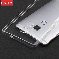 Carcasa Silicona Ultrafina Transparente T02 para Huawei Mate S Claro