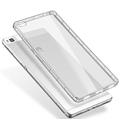 Carcasa Silicona Ultrafina Transparente T02 para Huawei P8 Claro