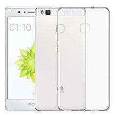 Carcasa Silicona Ultrafina Transparente T02 para Huawei P9 Lite Claro