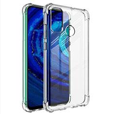 Carcasa Silicona Ultrafina Transparente T02 para Huawei Y8s Claro