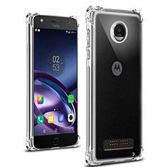 Carcasa Silicona Ultrafina Transparente T02 para Motorola Moto Z Play Claro