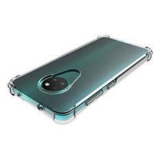 Carcasa Silicona Ultrafina Transparente T02 para Nokia 6.2 Claro