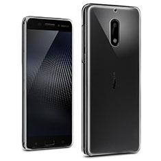 Carcasa Silicona Ultrafina Transparente T02 para Nokia 6 Claro