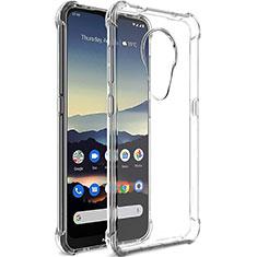 Carcasa Silicona Ultrafina Transparente T02 para Nokia 7.2 Claro