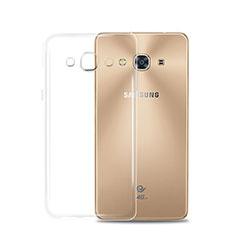 Carcasa Silicona Ultrafina Transparente T02 para Samsung Galaxy J3 Pro (2016) J3110 Claro