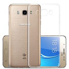 Carcasa Silicona Ultrafina Transparente T02 para Samsung Galaxy J5 (2016) J510FN J5108 Claro