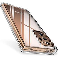 Carcasa Silicona Ultrafina Transparente T02 para Samsung Galaxy Note 20 Ultra 5G Claro