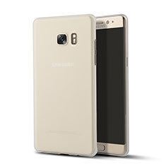 Carcasa Silicona Ultrafina Transparente T02 para Samsung Galaxy Note 7 Claro