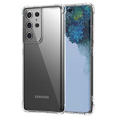 Carcasa Silicona Ultrafina Transparente T02 para Samsung Galaxy S21 Ultra 5G Claro