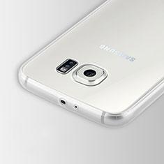 Carcasa Silicona Ultrafina Transparente T02 para Samsung Galaxy S6 Duos SM-G920F G9200 Claro