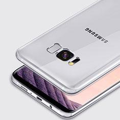 Carcasa Silicona Ultrafina Transparente T02 para Samsung Galaxy S8 Claro