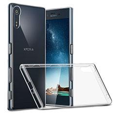 Carcasa Silicona Ultrafina Transparente T02 para Sony Xperia XZ Claro
