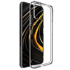 Carcasa Silicona Ultrafina Transparente T02 para Xiaomi Poco M3 Claro