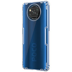 Carcasa Silicona Ultrafina Transparente T02 para Xiaomi Poco X3 NFC Claro