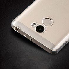 Carcasa Silicona Ultrafina Transparente T02 para Xiaomi Redmi 4 Standard Edition Claro
