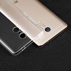 Carcasa Silicona Ultrafina Transparente T02 para Xiaomi Redmi Note 4 Claro