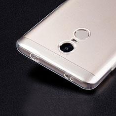 Carcasa Silicona Ultrafina Transparente T02 para Xiaomi Redmi Note 4X Claro