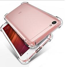 Carcasa Silicona Ultrafina Transparente T02 para Xiaomi Redmi Note 5A Standard Edition Claro